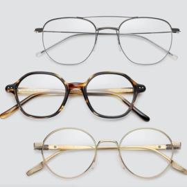 Sáfilo trae la elegancia a las gafas de vista masculina